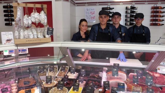Commerce artisanal : une seconde jeunesse pour une boucherie Yonnaise