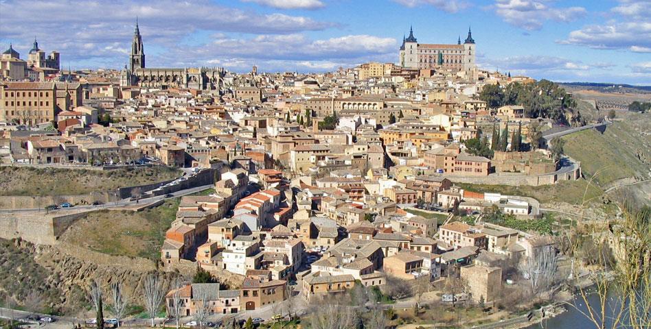 Tolède ville du Puy du fou espagne