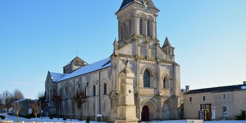 Abbaye Nieul sur l'Autise Vendée