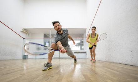 Le squash en 11 points