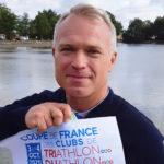 Dans la peau de Michel, en selle pour la coupe de Triathlon :)
