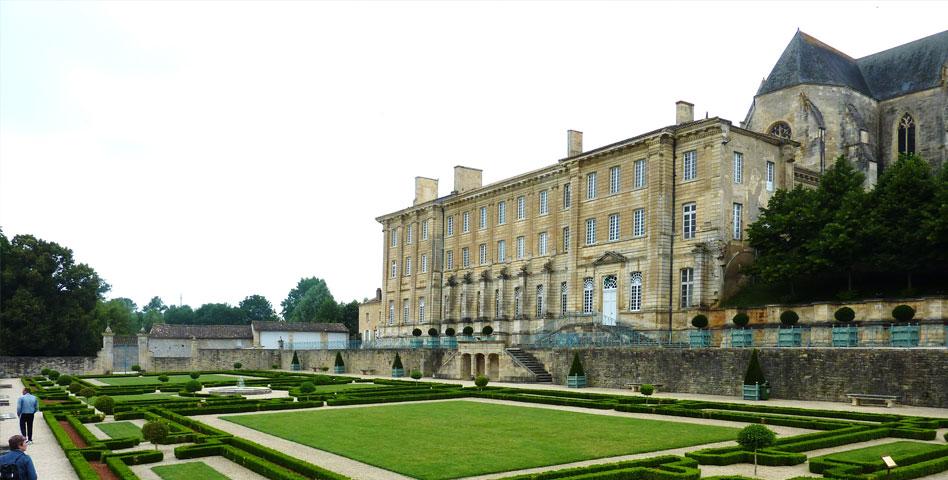 abbaye royale celles sur belle jardin