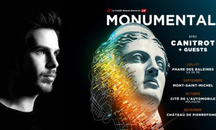 Le Monumental Tour, l'électro à la rencontre du patrimoine :)