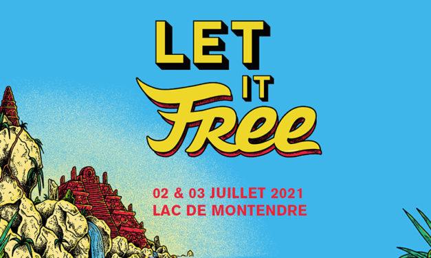 Let It Free - 2 et 3 juillet 2021 - Lac de Montendre